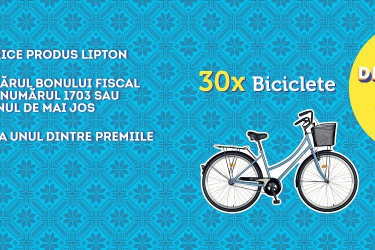 Profi - Lipton Taste of Romania - Castiga o bicicleta!