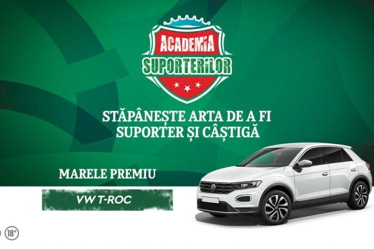 Cora - Academia Suporterilor - Castiga un card cadou o minge de fotbal sau un Volkswagen T-ROC!