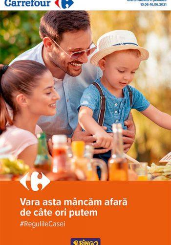Catalog Carrefour 10 iunie - 16 iunie 2021 - Meriti ce e mai bun!