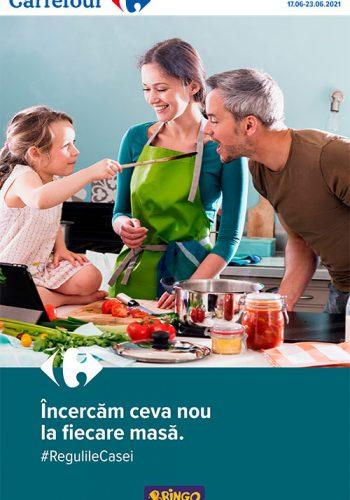 Catalog Carrefour 17 iunie - 23 iunie 2021 - Meriti ce e mai bun!
