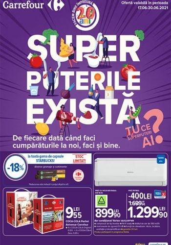 Catalog Carrefour 17 iunie - 30 iunie 2021 - Ai vazut ce oferte ti-am pregatit?