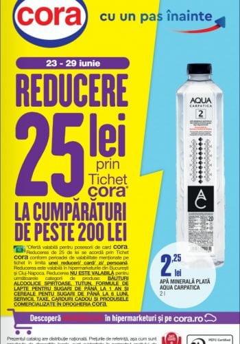 Catalog Cora Bucuresti, Cluj 23 iunie - 6 iulie 2021