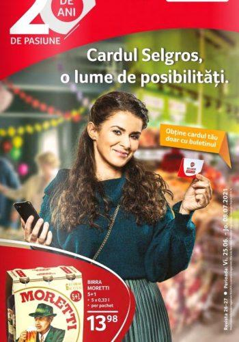 Catalog Selgros 25 iunie - 8 iulie 2021 - Food