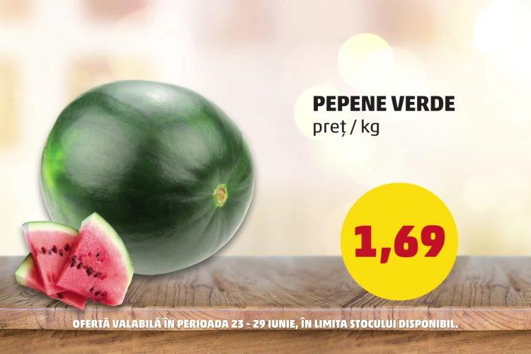 Oferta Penny - Pepene verde si Cascaval Rucar Boni - 23 iunie - 29 iunie 2021
