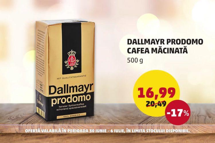 Oferta Penny - Cafea macinata Dallymayr Prodomo si Piersici - 30 iunie - 6 iulie 2021