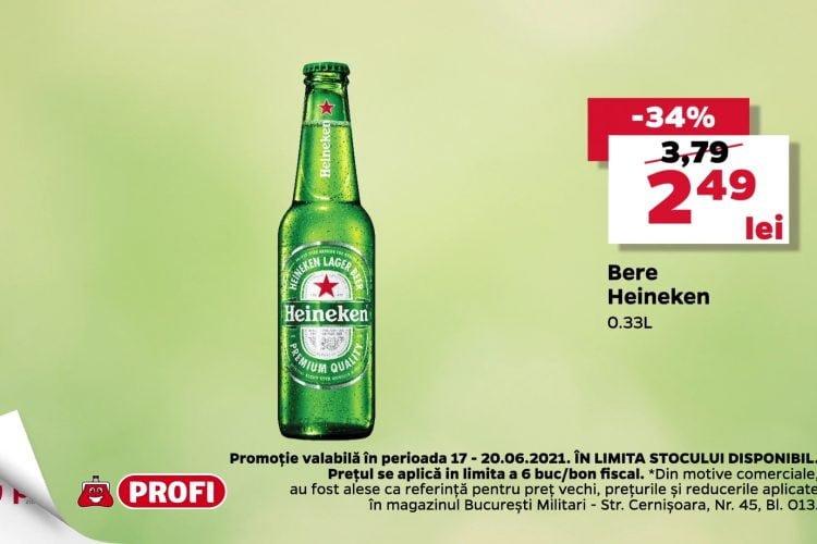 Oferta Profi 17 iunie - 20 iunie 2021 - Bere Heineken