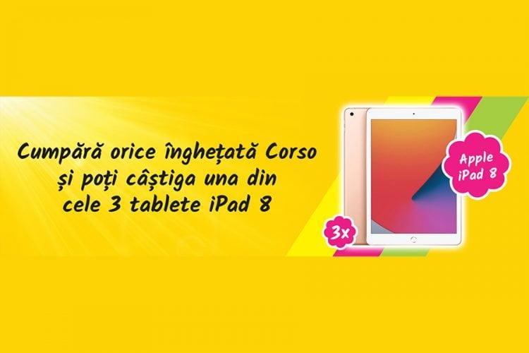 Auchan - Corso - Traieste-ti vara cu premii cool! Castiga o tableta Apple iPad 8!