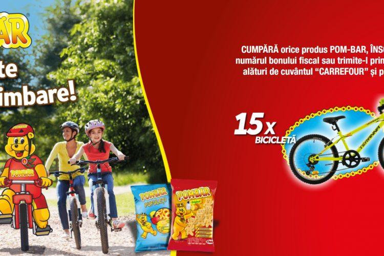 Carrefour - Pombar te scoate la plimbare - Castiga o bicicleta!