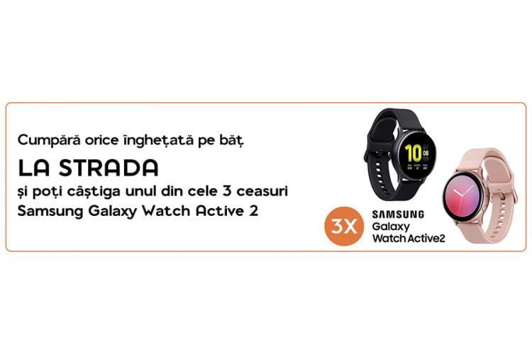 OMV - La Strada - Cucereste strada cu accesoriile La Strada! Castiga un Samsung Galaxy Watch Active 2!