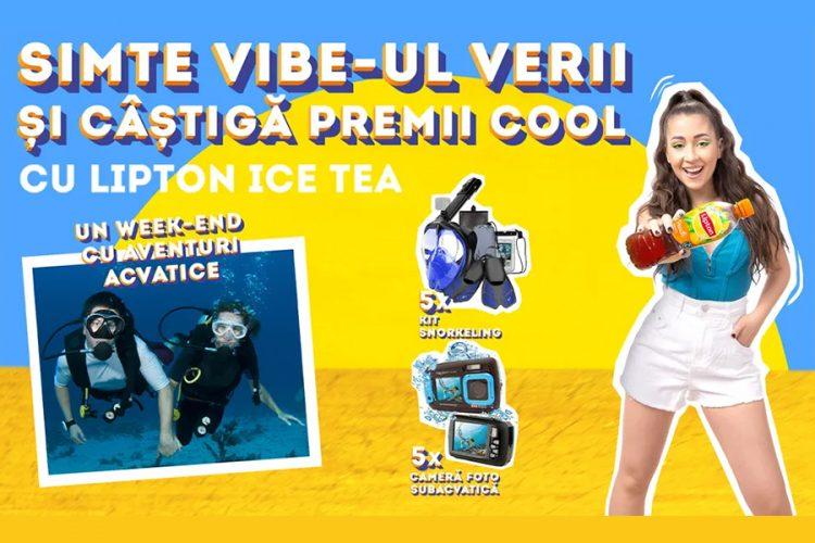 Penny - Simte vibe-ul si castiga premiile verii cu Lipton Ice Tea!
