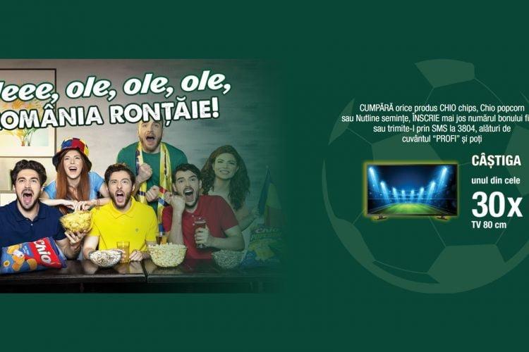 Profi - Chio - Oleee, ole, ole, ole, Romania rontaie! Castiga un TV!