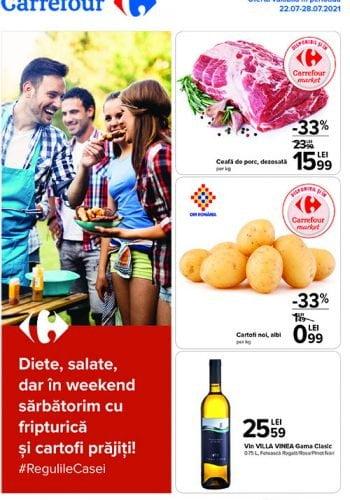 Catalog Carrefour 22 iulie - 28 iulie 2021 - Ai vazut ce oferte ti-am pregatit?