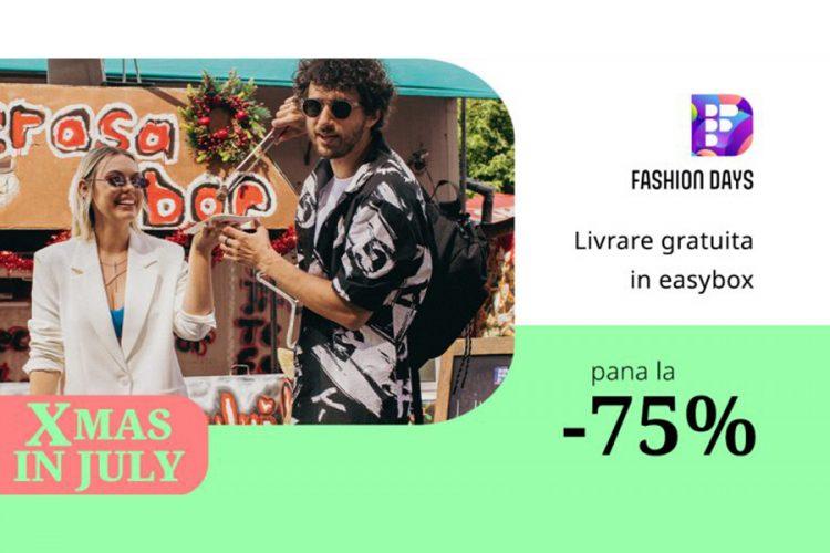 Fashion Days Xmas in July - Reduceri de pana la 75%!