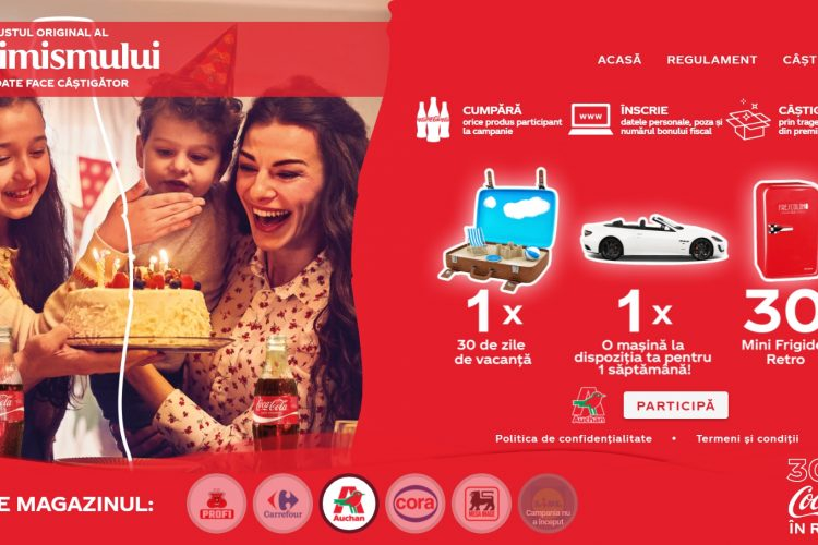 Auchan - Coca-Cola Aniversar 30 Ani