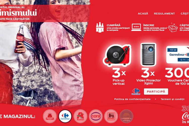 Carrefour - Coca-Cola Aniversar 30 Ani