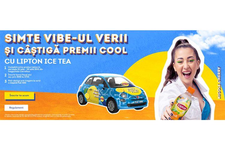 Carrefour - Lipton Summer - Castiga o masina Fiat 500!