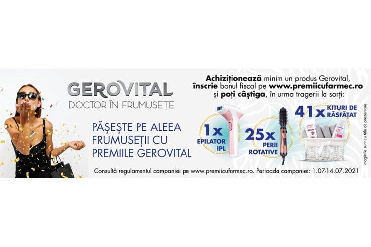 Farmec - Gerovital - Campanie aniversara Carrefour - Castiga un epilator IPL, o perie rotativa sau un kit de rasfat!
