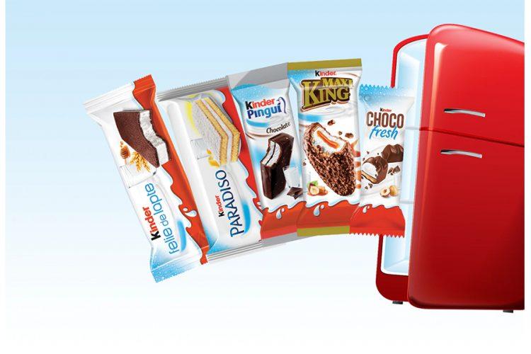 Kinder - Deschide usa spre lumea gustarilor fresh! Castiga un frigider Smeg!