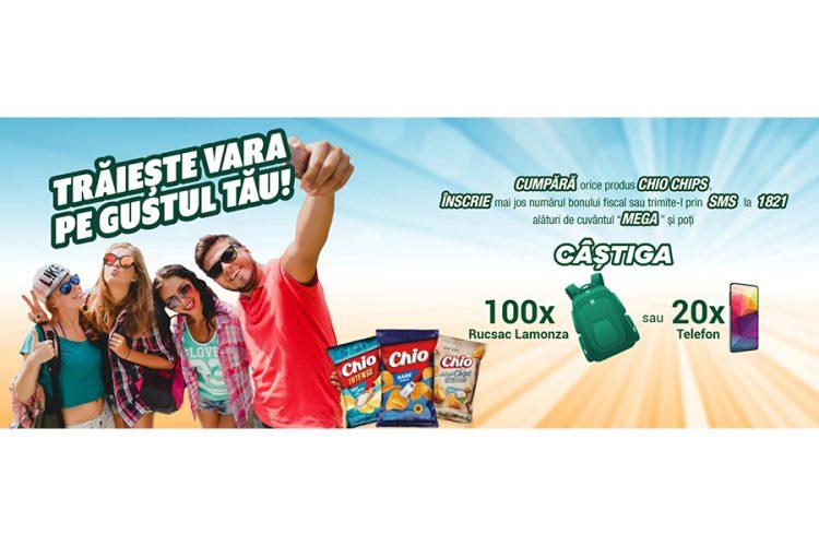 Mega Image - Chio Chips - Castiga premii pe gustul tau: un rucsac Lamonza sau un telefon!