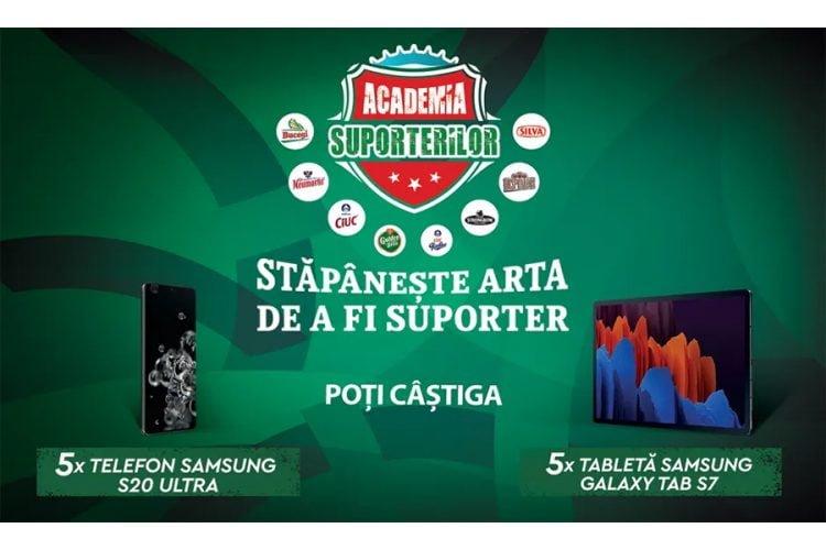 Penny - Academia suporterilor - Castiga un Samsung S20 Ultra sau o tableta Samsung Galaxy Tab S7!