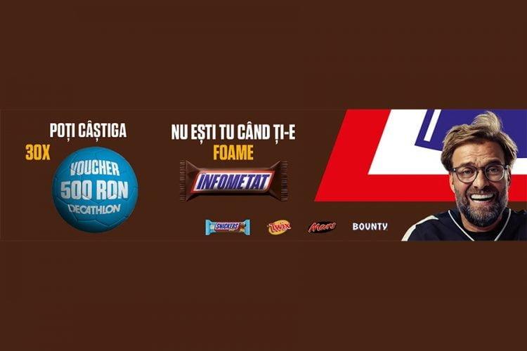 Penny - Football Snickers - Castiga un voucher Decathlon!
