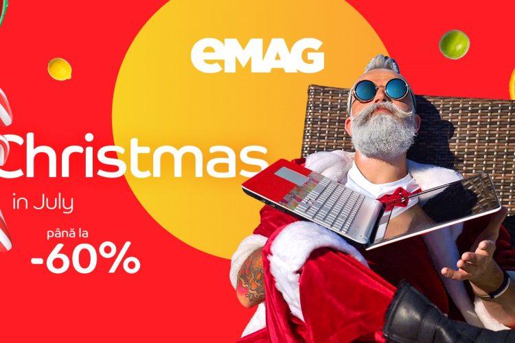 eMAG Christmas in July 13-15 iulie 2021