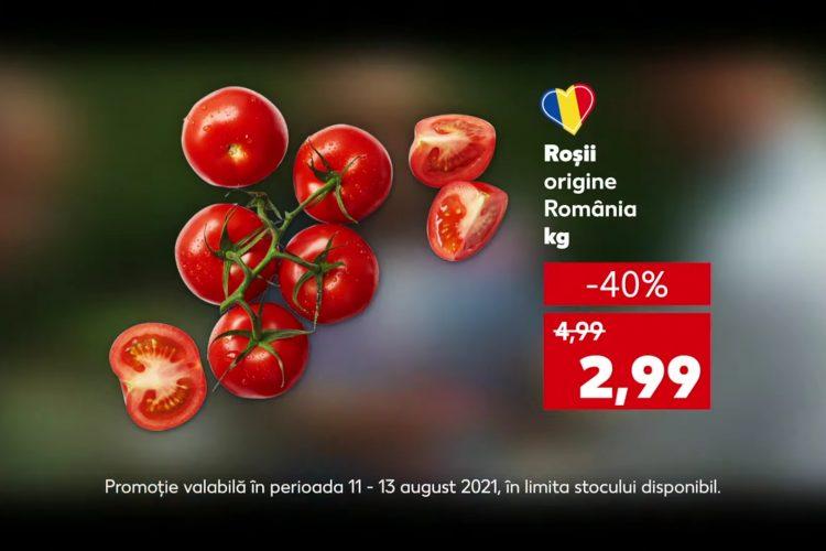 Oferta Kaufland din 11-13 august 2021: rosii, branza gouda si orez