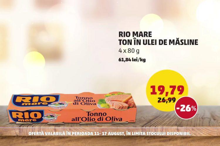 Oferta Penny - Rio Mare Ton in Ulei de Masline si Pepene Verde - 11 august - 17 august 2021