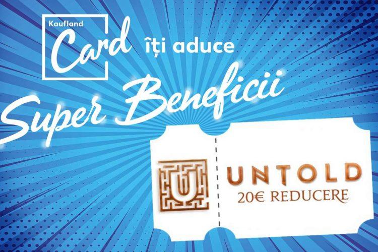 Voucher Kaufland - 20€ reducere la abonamentul 4 Day Amulet de la UNTOLD Festival