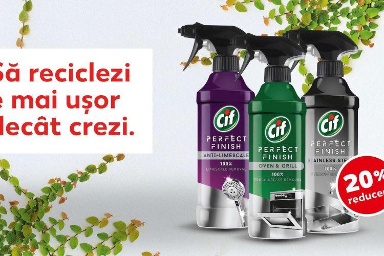 Voucher Kaufland - 20% reducere pentru toata categoria de articole CIF Perfect Finish 435 ml