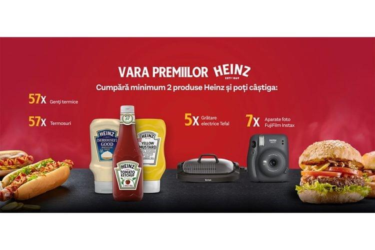 Heinz - Vara premiilor Heinz - Castiga un termos, o geanta termica, un gratar electric Tefal sau un aparat foto!