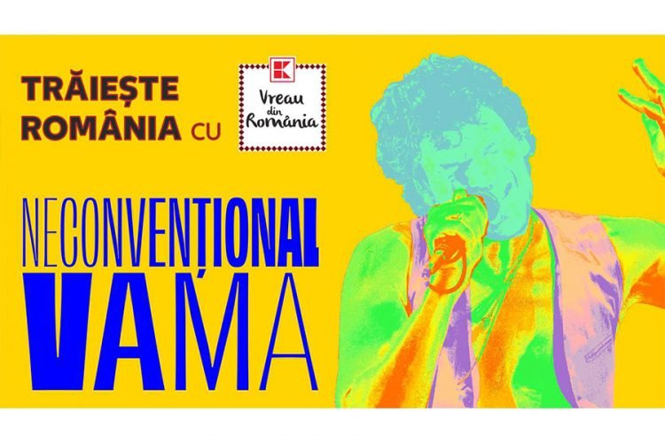 """Kaufland - Traieste Romania cu Vreau din Romania - Castiga o invitatie dubla la concertul """"Vama Neconventional""""!"""