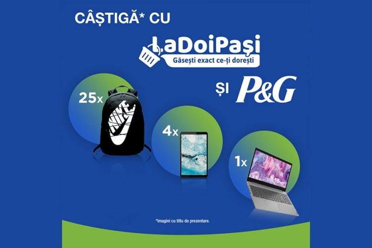LaDoiPasi - Castiga cu La Doi Pasi si P&G un rucsac sport Nike, o tableta Lenovo sau un laptop Lenovo!