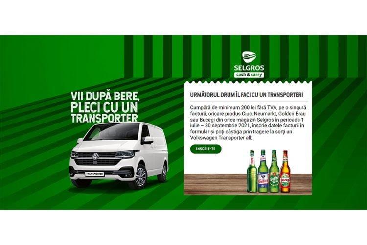 Selgros - Vii dupa bere, pleci cu un Transporter