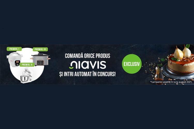 Vegis.ro - Niavis - Castiga unul dintre cele 3 aparate electrocasnice + un voucher Vegis!