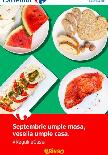 Catalog Carrefour 16 septembrie - 22 septembrie 2021 - Meriti ce e mai bun!