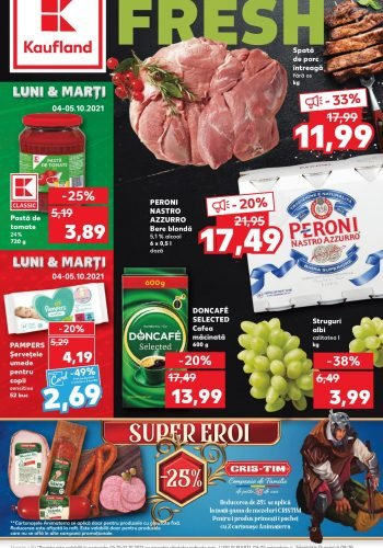 Catalog Kaufland 6 octombrie - 12 octombrie 2021