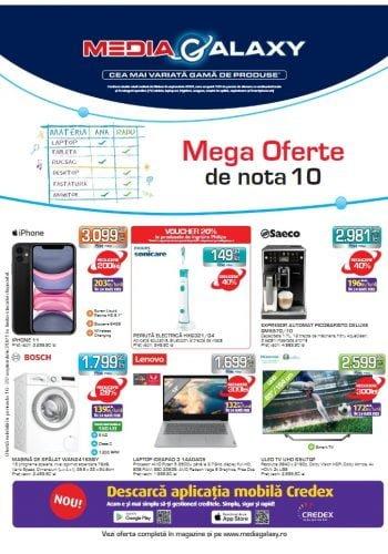 Catalog Media Galaxy 16 septembrie - 22 septembrie 2021 - Mega Oferte de nota 10