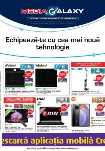 Catalog Media Galaxy 30 septembrie - 6 octombrie 2021 - Echipeaza-te cu cea mai noua tehnologie