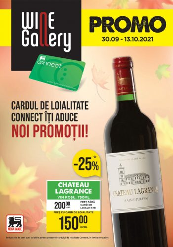 Catalog Mega Image - Revista Wine Gallery 30 septembrie - 13 octombrie 2021
