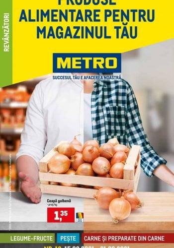 Catalog Metro - Produse alimentare pentru magazinul tau 15 septembrie - 21 septembrie 2021