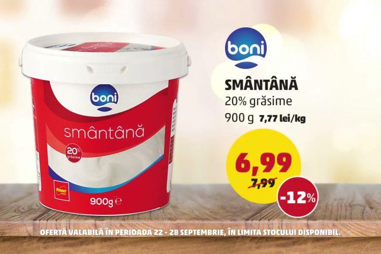 Oferta Penny - BONI Smantana si Nectarine - 22 septembrie - 28 septembrie 2021
