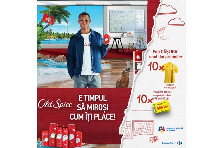 Carrefour - Cu Old Spice miroase a adevarata pasiune in Carrefour!