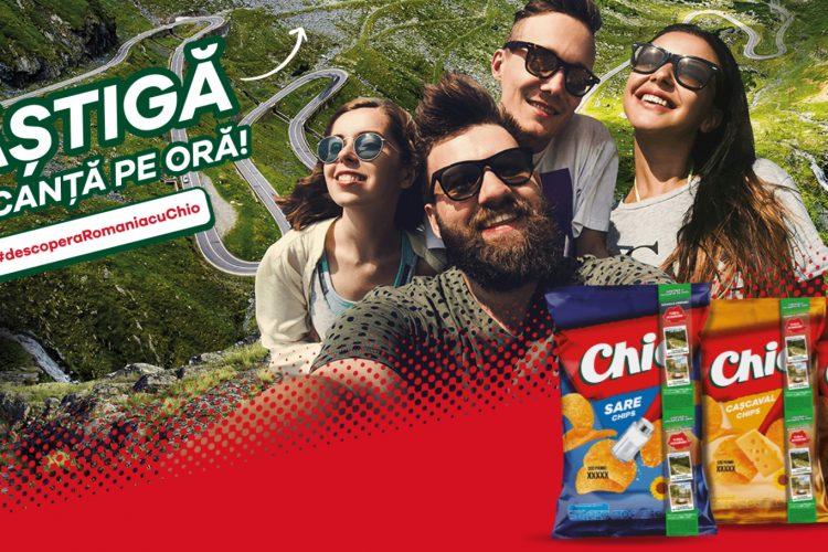 Chio Chips - Castiga o vacanta pe ora! #descoperaRomaniacuChio