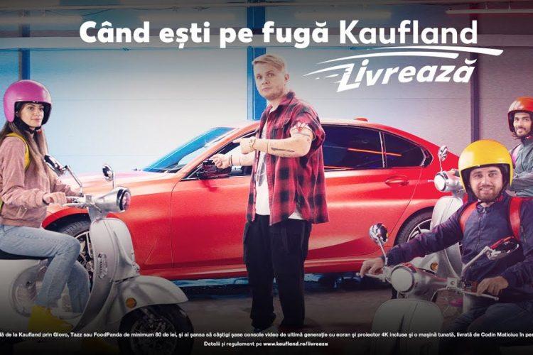 Kaufland Livreaza - Castiga o consola video sau o masina!