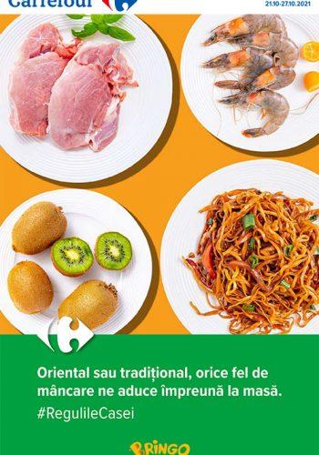 Catalog Carrefour 21 octombrie - 27 octombrie 2021 - Meriti ce e mai bun!