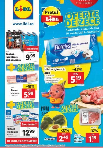 Catalog Lidl 25 octombrie - 31 octombrie 2021