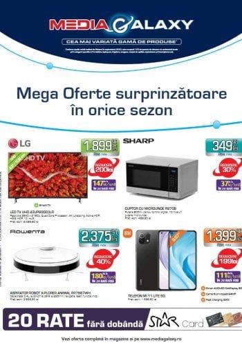 Catalog Media Galaxy 7 octombrie - 13 octombrie 2021 - Mega Oferte surprinzatoare in orice sezon