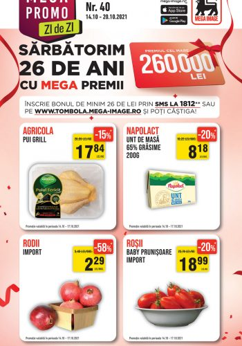 Catalog Mega Image 14 octombrie - 20 octombrie 2021