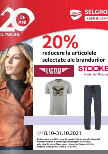Catalog Selgros 18 octombrie - 31 octombrie 2021 - Stooker